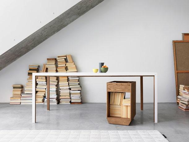 Il legno, con gli svedesi Asplund , diventa un materiale morbido che ...