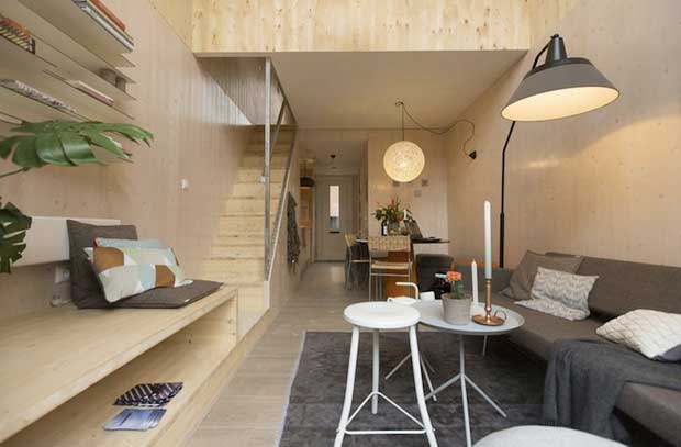 Casa del futuro piccola ecologica mobile viviconstile for Piani di casa del condominio