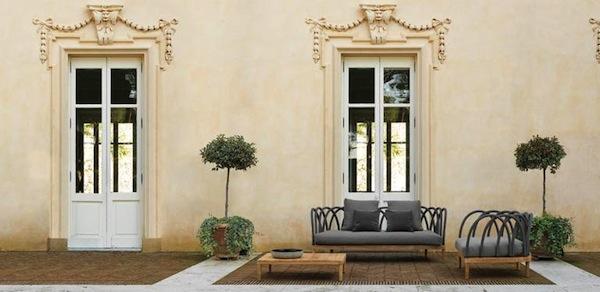 mobili da giardino: les arcs, la nuova linea di arredo esterni ... - Arredamento Esterni Unopiu