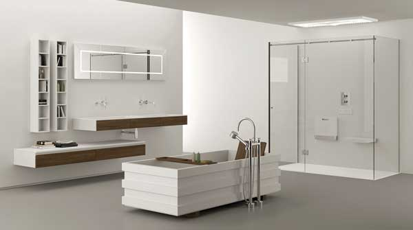 tre passi per rendere il bagno un dolce rifugio? di stile ... - Bagni Moderni Piccole Dimensioni