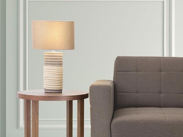 Lampada da camera da letto affordable gea luce lampada da for Beliani lampadari