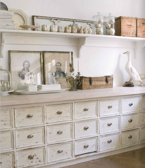 Arredare la casa in stile shabby chic viviconstile for Casa country chic
