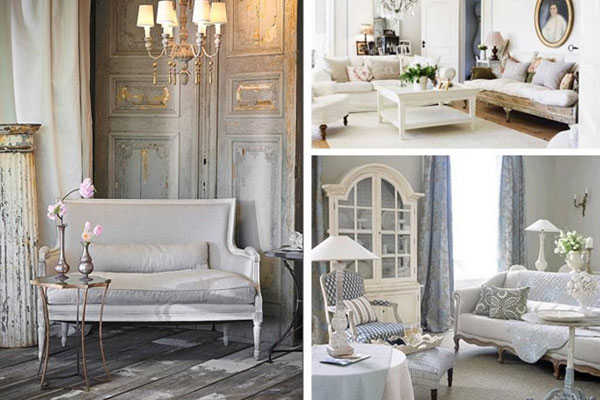 Arredare la casa in stile shabby chic viviconstile for Interni in stile cottage