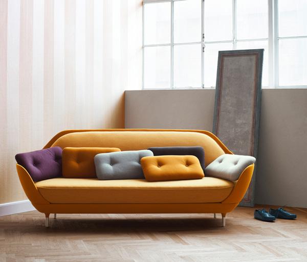 Arredare casa il divano di design favn viviconstile for Divano colorato