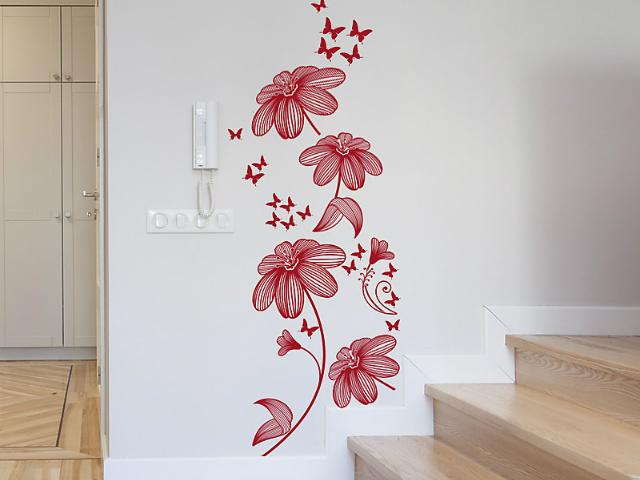 Home decor   lo stile contemporaneo degli adesivi murali ...