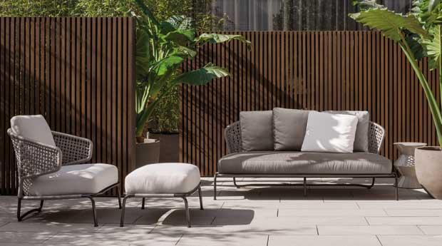 mobili da esterni di design - aston cord outdoor di minotti ... - Mobili Design Da Esterno