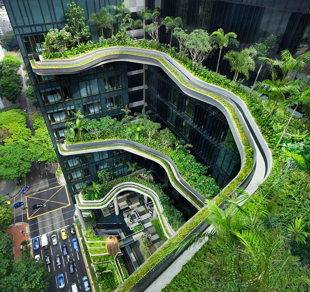 I roof garden pi belli i giardini pensili conquistano le for Giardini sui terrazzi