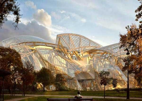 La nuova Fondazione Louis Vuitton di Parigi – la cattedrale di vetro di Frank Gehry