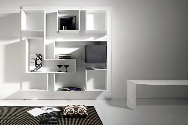 Arredare con stile come scegliere la libreria perfetta viviconstile - Librerie di design per casa ...