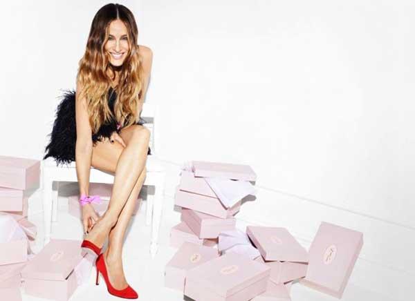 SJP la nuova collezione di scarpe firmate Sarah Jessica Parker per Manolo Blahnik