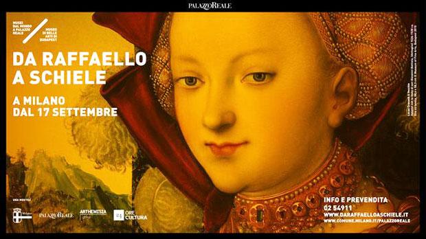 Da Raffaello a Schiele – i capolavori del Museo di Belle Arti di Budapest in mostra a Milano
