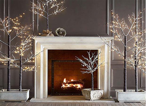 Decorazioni e albero di Natale fai-da-te per una casa in festa
