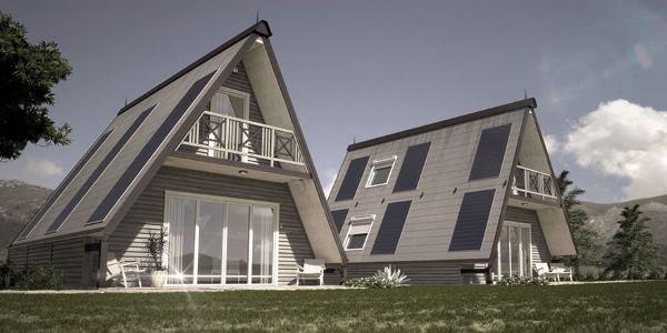 Madi, la casa pieghevole di design che si monta in sei ore